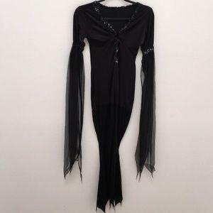 Elvira Body Hugging Dress Halloween Costume